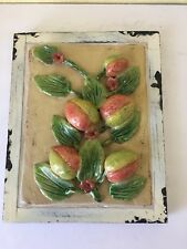 Decorative Wall Art 3D Peaches Figs Tile Ceramic Wall decor Mosiac Furniture