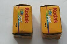 2x KODAK Color Plus 35mm 200iso 135-36 exposure expired colour print film