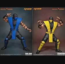 Mortal Kombat Storm Collectibles Sub-Zero & Scorpion 1:12 Action Figures-JUST IN
