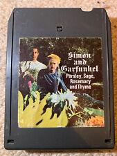 Simon & Garfunkel Parsley, Sage, Rosemary and Thyme - 8 track tape