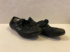 Asahi Running Master In Step Black Canvas Twirl Dance Baton Shoes 22.0 Ee Size 3 00004000