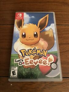 Pokemon Let's Go Eevee Version Nintendo Switch