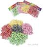 60 Mini Hair Bands Soft New Bobble Baby Girl Ponytail Elastic Stretchy Snag Free