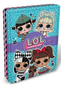 L.O.L. SURPRISE LETS BE FRIENDS COLLECT LOL ACTIVITIES STICKERS TIN GIFT £12.99