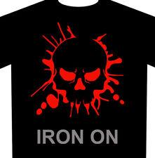 Skull Splash Iron-On Fabric HTV Heat Transfer Vinyl