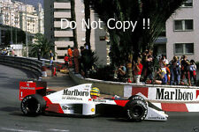 Ayrton Senna McLaren MP4/5 Winner Monaco Grand Prix 1989 Photograph 6