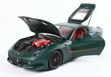 Ferrari F12 TDF Matte Green BBR 1:18 Diecast & Display Case LE 200 MIB PRE-ORDER