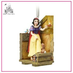 DISNEY SNOW WHITE FAIRYTALE MOMENTS SKETCHBOOK ORNAMENT BRAND NEW IN BOX