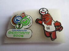 b1 lotto 2 spille GERMANY 2006 FIFA WORLD CUP football calcio pins lot 06