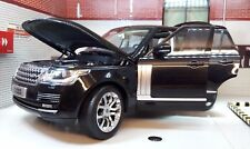 Range Rover L405 TDV8 4.4 V8 noir VOGUE détaillé DIECAST MODEL 1:18 Welly GT