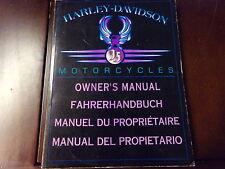 Fahrerhandbuch Harley Davidson Sportster 883 1200 Electra Glide Bad Boy Heritage