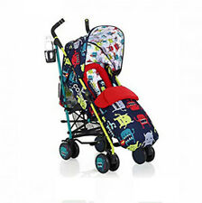 New Cosatto Supa Pushchair Stroller Cuddle Monster 2 birth + with footmuff & R/C