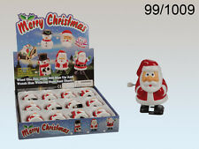 Wind up Santa Claus Toy - Running Racing Office Party Christmas Decoration - New