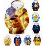 Pokemon Pikachu Jungen Mädchen 3D Kapuzenpulli Langarm Sweatshirt Hoodie Kostüm