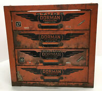 Dorman Vintage Industrial 4 Drawer Parts Cabinet