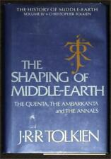 SHAPING OF MIDDLE-EARTH VOL IV Tolkien HISTORY OF MIDDLE-EARTH True 1st PRINT HC