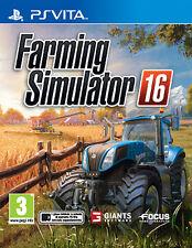 Farming Simulator 2016 SONY PS VITA IT IMPORT FOCUS