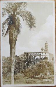 Santiago de Cuba 1930s Realphoto Postcard: Santuario El Cobre, Oriente