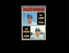 1970 Topps 131 Rookie Stars Ray Lamb/Bob Stinson RC VG-EX #D633695