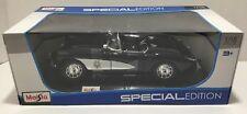 1957 Corvette Police 1:18 Model Car Maisto Special Edition, New