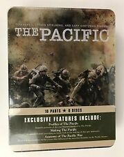 NEW! ~ 'THE PACIFIC' DVD 2010, 6-Disc Set in Tin Box, Tom Hanks Steven Spielberg