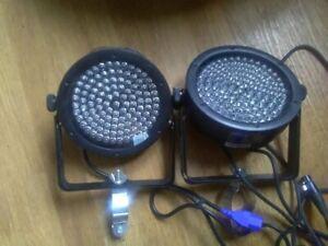 Chauvet SlimPAR 56 LED DMX RGB Par Can Wash DJ Disco Lighting Effect