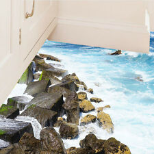 COOL Floor Stickers 3D Coast Floor/Wall Sticker Removable Mural Decal Room Decor