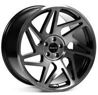 18x8.5/9.5 Regen5 R31 5x100 +36/38 Smoked Carbon Rims Fits Frs Brz 2013-2016