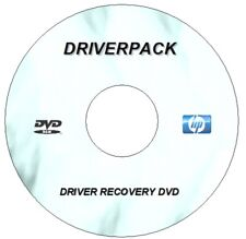 NEW HP DRIVERS RECOVERY DISC DRIVER UPDATE ON  DVD FOR WIN XP VISTA 7 8 8.1