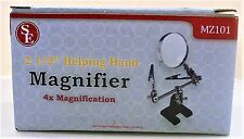 "Model Shipways Tool. 2-1/2"" Helping Hands With Magnifier. Item# MZ101. NEW."