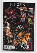 Civil War II: Kingpin #1 - Midtown Comics Variant Signed Rosenberg - Marvel