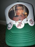 New A Christmas Story 1983 Snapback Mens Shirt Trucker Cap Hat DVD Ornament