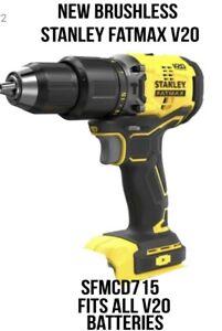 Stanley fatmax v20 brushless combi drill bare unit sfmcd715