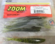 "Zoom Fluke 4"" – Watermelon Seed, soft plastic lures"