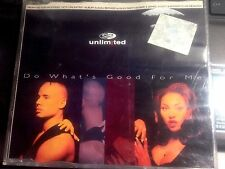 """FROM THE """"HITS UNLIMITED"""" DO WHATS GOOD FOR ME  *  CD *"""