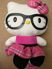 NWT Sanrio Hello Kitty Nerd Plush Stuffed Animal - 12 Inches High!