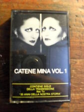 "MINA  ""CATENE VOL. 1""    MC"