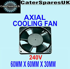 AXIAL OVEN FRIDGE FREEZER COOLING FAN MOTOR 60 x 60 x 30MM CATERING SPARE 240v