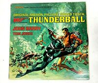 James Bond 007 Thunderball Original Soundtrack Album LP United Artists UAL 4132