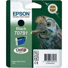 Epson Original New T0791 Owl Black Ink Cartridge (C13T07914010) PX730WD PX660