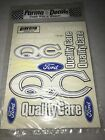 Parma decals 1/10 Quality Care Ford