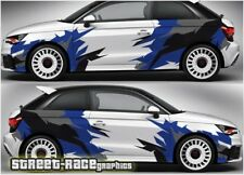 Audi A1 rally 005 racing camouflage graphics stickers decals