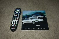 1990 Toyota Celica Supra MR2 Previa Cressida Camry Corolla Tercel Trucks 4Runner