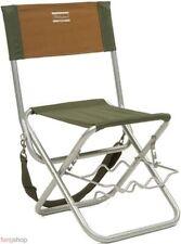 Shakespeare Angelstuhl mit Lehne und Rutenhalter Karpfenstuhl Stuhl Camping Ange