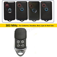 BOL4 BOL6 BRD1 Garage Gate Remote Control 303MHz Boss Guardian BHT4 Steel Line