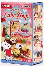 Snoopy Cake Shop Candy Re-Ment miniature blind box (1 box)