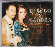 SANDRA  & DJ BOBO - SECRETS OF LOVE - 4 TRACK CD + VIDEO MINT! CRETU