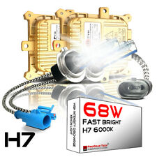 68W H7 6000K Heavy Duty Fast Bright AC HID Xenon Kit for 12V NON-CANBUS Vehicles