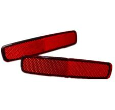 Pair Rear Bumper Left Right Lamp Reflector Red for HYUNDAI H1 STAREX 2001-2006