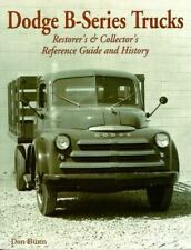 Dodge B Series Truck Originality Restoration Identify Guide 1948-1953 Book (Fits: Truck)
